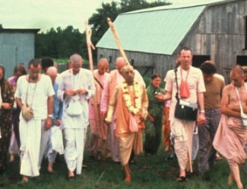 Srila Prabhupada's desire to establish Vedic farms