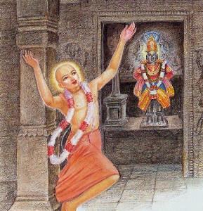 Caitanya Mahaprabhu visits Pandharpur